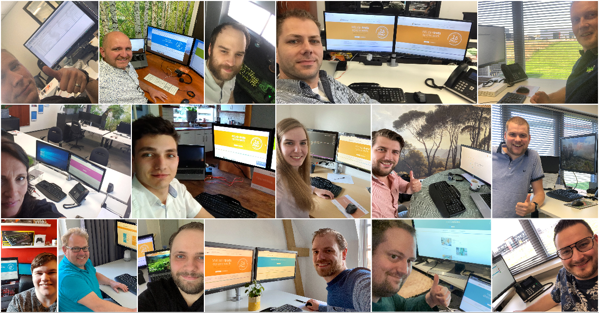 Het hele Direct ICT team, wenst iedereen fijne feestdagen en een goed Paasweekend!